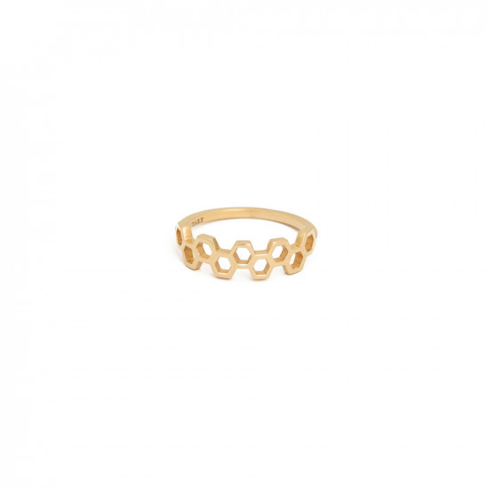 Honeycombs Apis Ring