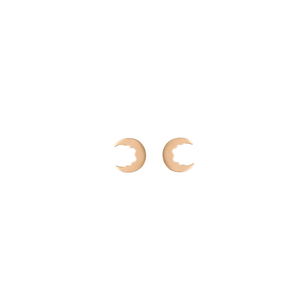 Broken Moon Broken Moon Tiny Earrings