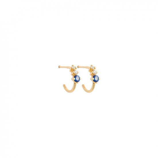 Astrum Cora Small Hoops