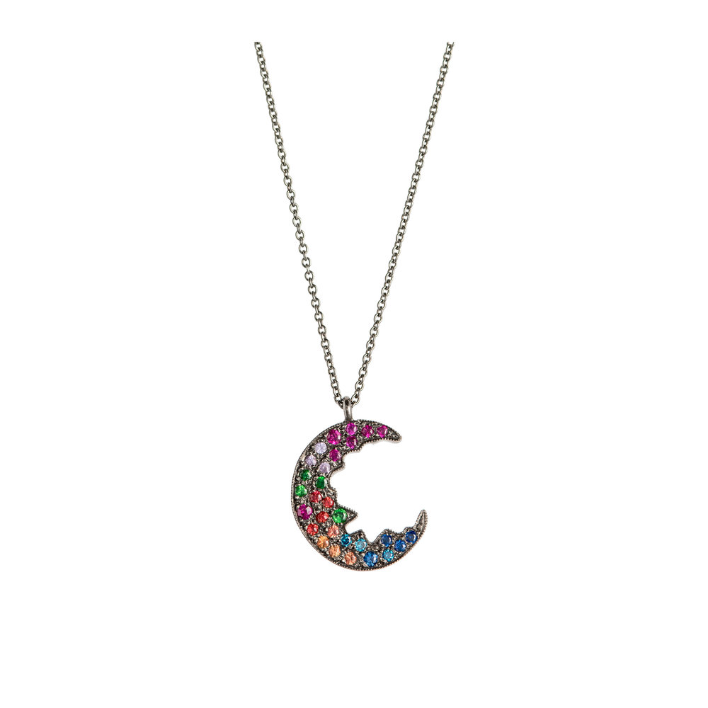 Broken Moon Broken Moon Rainbow Necklace