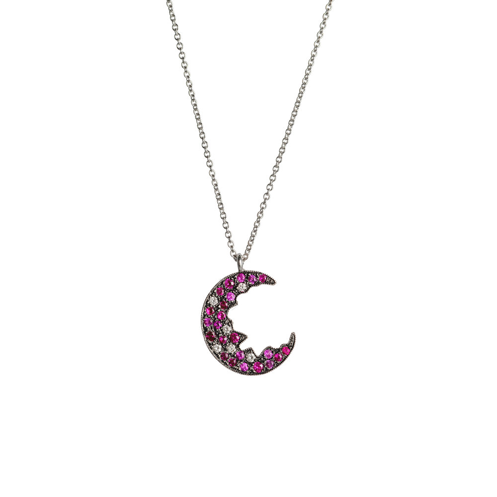 Broken Moon Broken Moon Ruby Necklace
