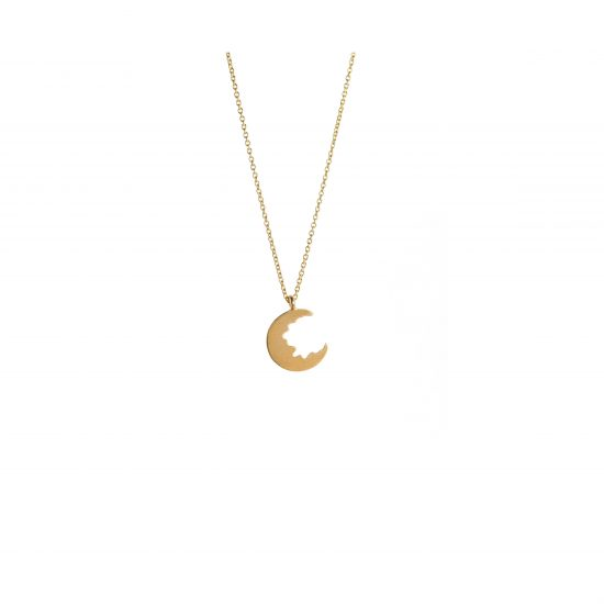 Broken Moon Broken Moon Tiny Necklace