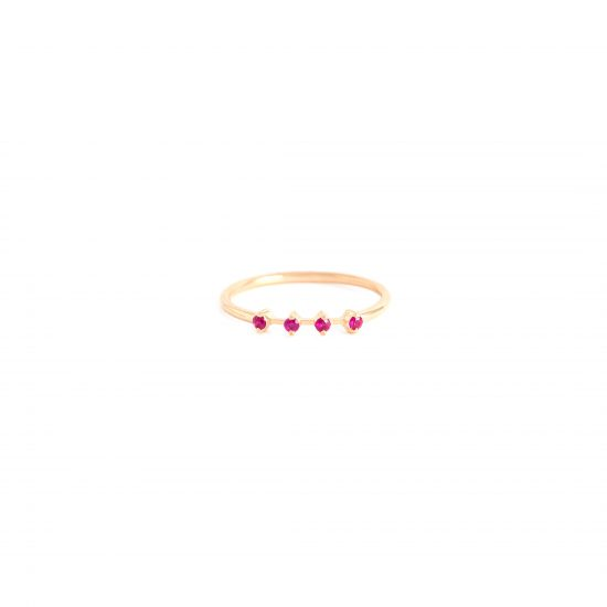 Astrum Orion Ring (Rubies)