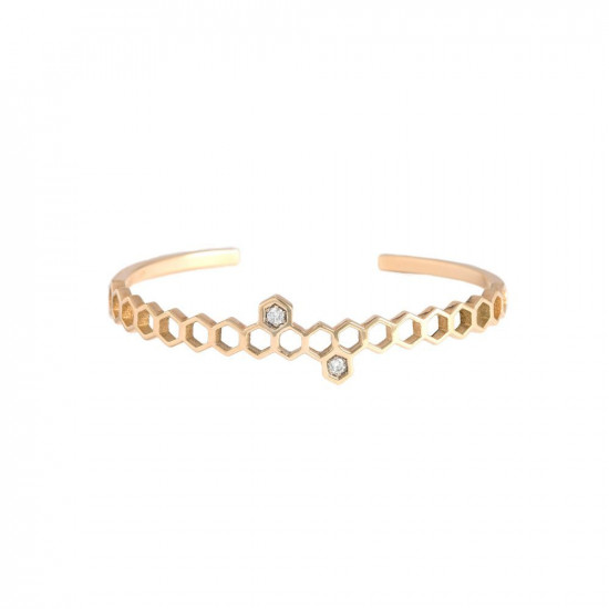 Honeycombs Meli Cuff