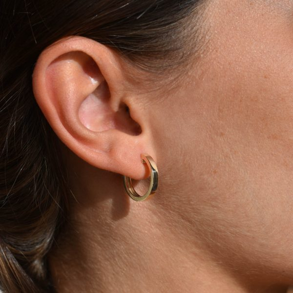 juno big hoops gold earrings