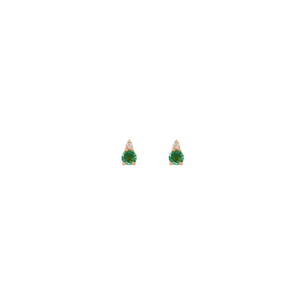 Astrum Gia Big Earrings (Emeralds)