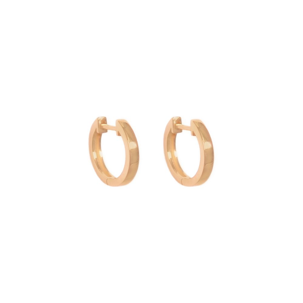 Curves & Edges Juno Big Hoops
