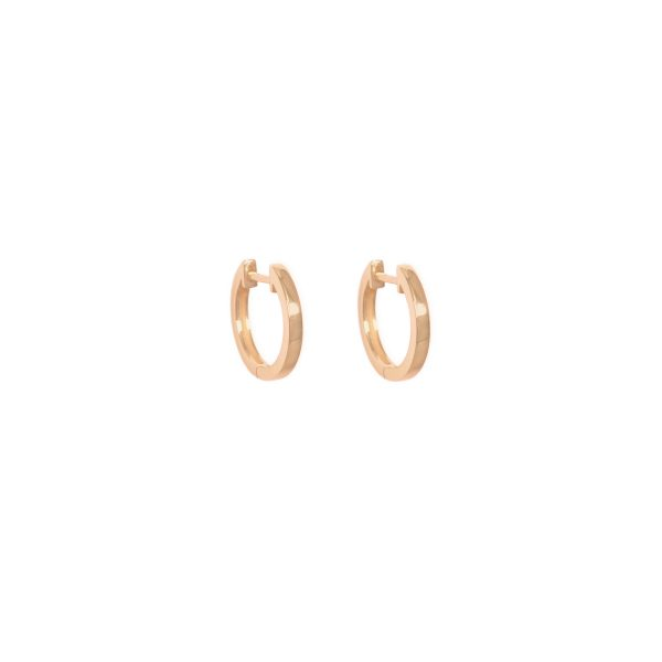 Curves & Edges Juno Medium Hoops