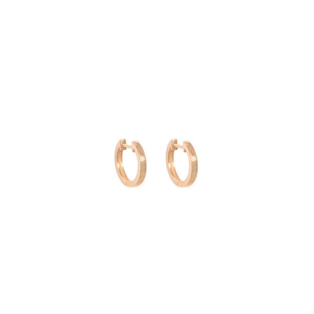 Curves & Edges Juno Small Hoops
