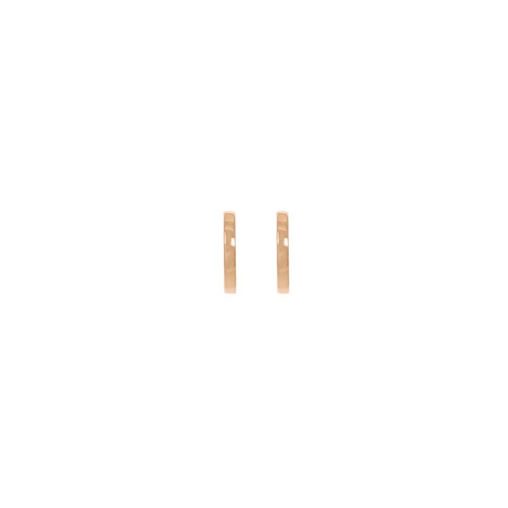juno small hoops gold earrings