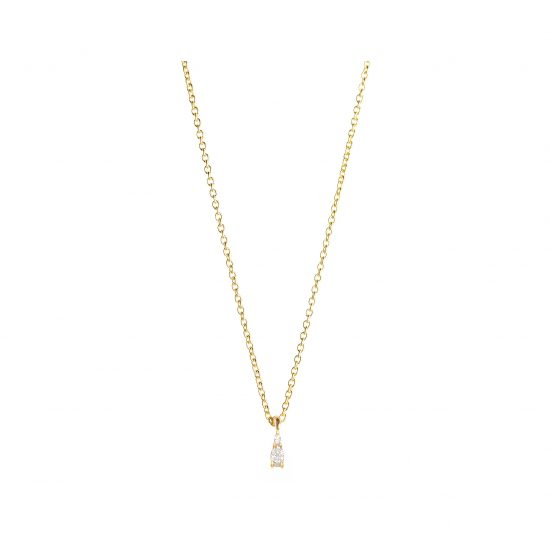 Astrum Gia Tiny Necklace (White Diamonds)